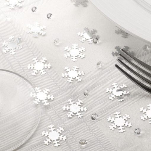 Table Confetti Snowflake