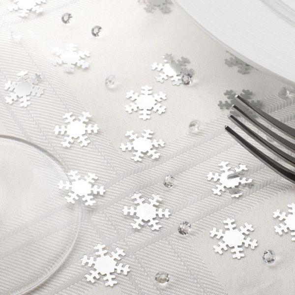 Table Confetti Snowflake