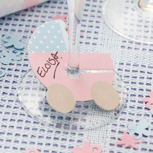 Tiny Feet Glass Markers