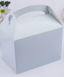 Polka Dot Lunch Box Blue