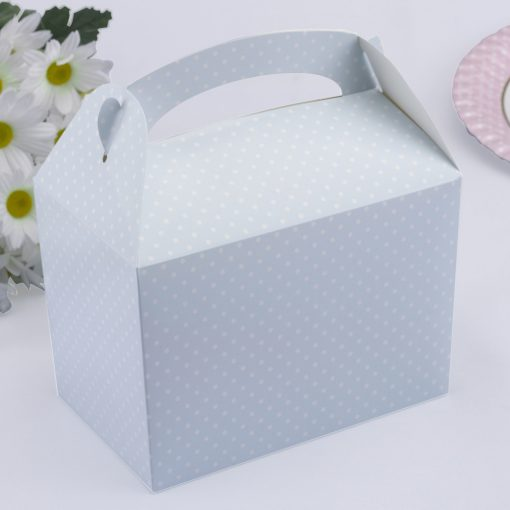 Polka Dot Lunch Box Blue