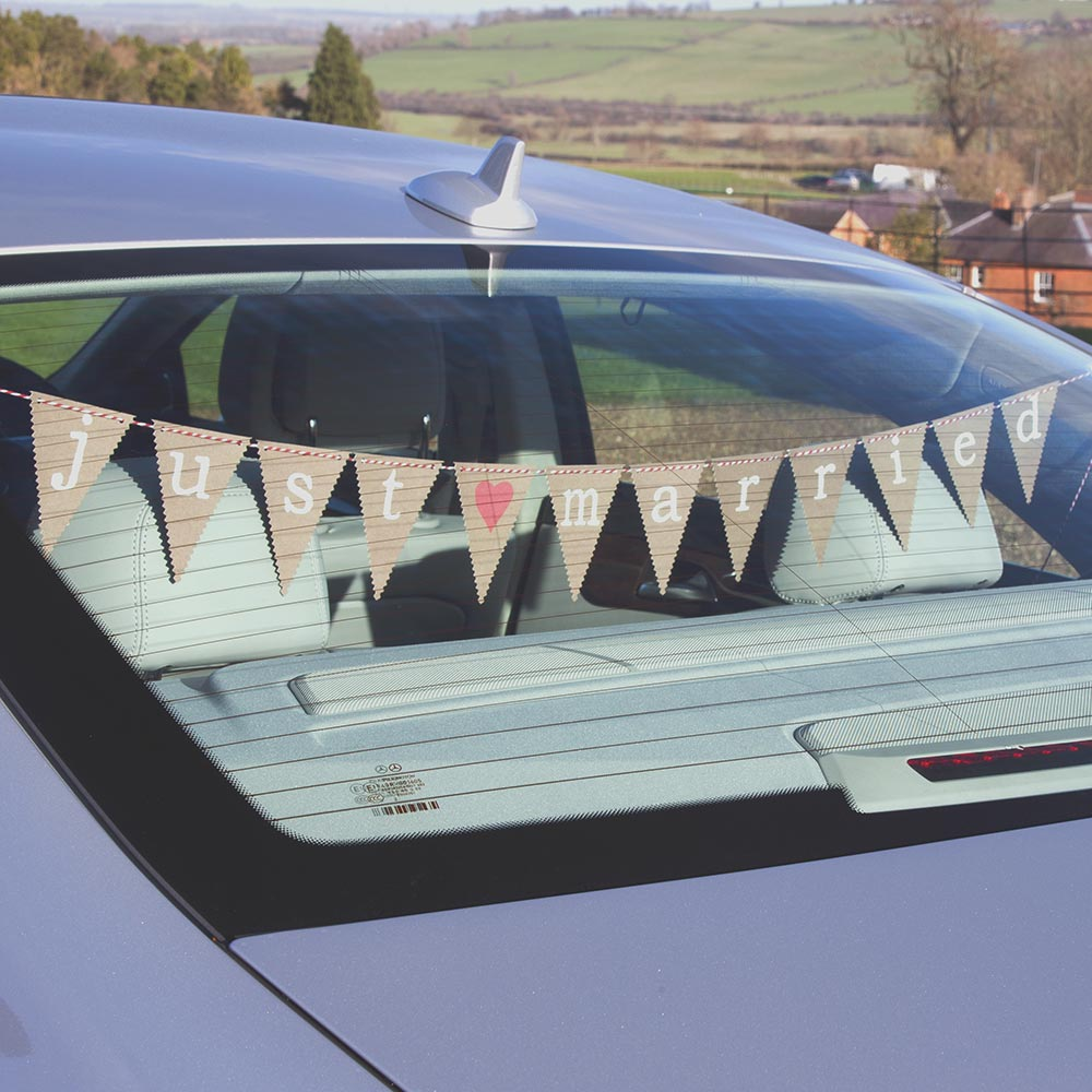 Just My Type Car Bunting