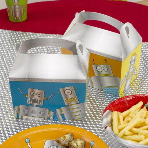 Robot Heroes Lunch Box
