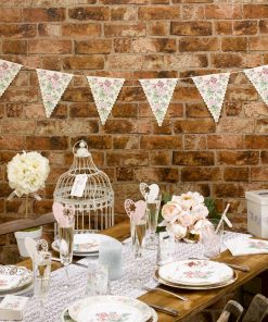 With Love Floral Paper Bunting