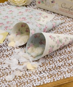 With Love Confetti Cones