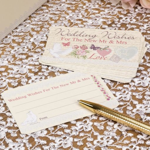 With Love Wedding Wishes Cards
