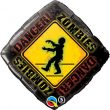"""18"""" Zombies Crossing Foil"""