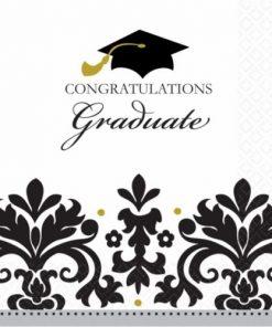 Congratulations Graduate 2 Ply Napkins