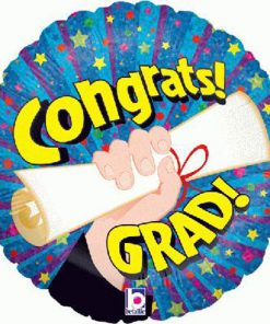 """18"""" Congrats Grad Foil"""