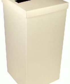 Wedding Post Box with Lid - Ivory