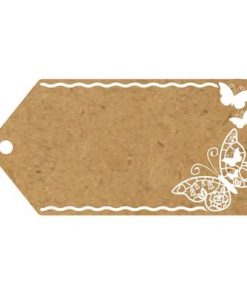 Eleganza Greeting Tags Craft Finish