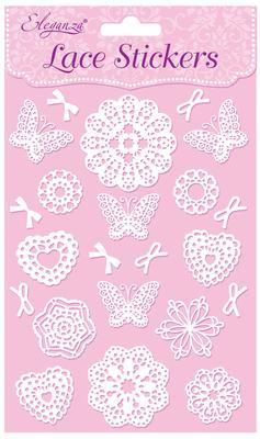 Eleganza Lace Stickers Pattern Selection B