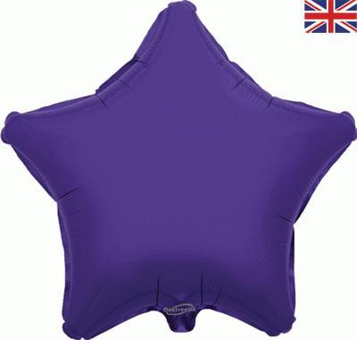 """Oaktree 19"""" Purple Star"""