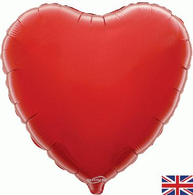 "18"" Red Heart Foil"