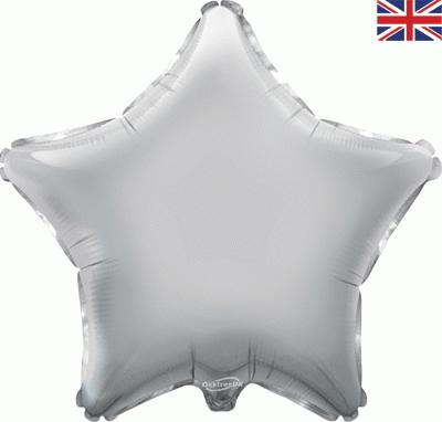 "Oaktree 19"" Silver Star Foil"