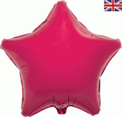 "Oaktree 19"" Fuchsia Star"