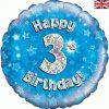 Happy 3rd Birthday Blue