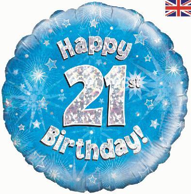 Happy 21st Birthday Blue