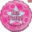 """18"""" Hen Party Girls Night Out Foil"""
