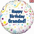 "18"" Happy Birthday Grandad Foil Balloon"