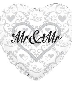 "18"" Mr and Mr foil balloon"