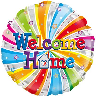 "18"" Welcome Home Swirl Foil"