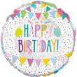 "18"" Patchwork Birthday Foil"