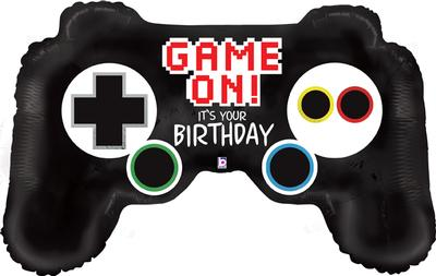 Game Controller Birthday Shape Foil