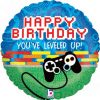 """18"""" Game Controller Birthday Holographic Foil"""
