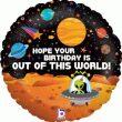 """18"""" Alien Birthday Foil"""