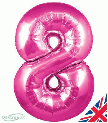 30inch Pink Number 8