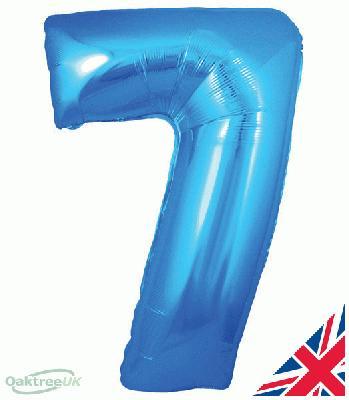 30inch Blue Number 7