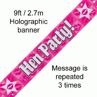 Hen Party! Banner