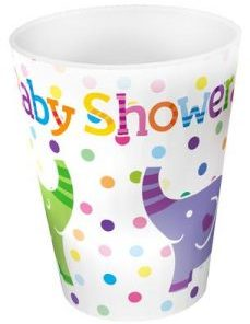 Baby Shower Elephants 9oz/266ml Cups