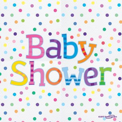 Baby Shower Elephants 3ply Napkins