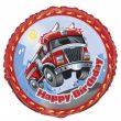 "18"" Fast Fire Engine Foil Balloon"