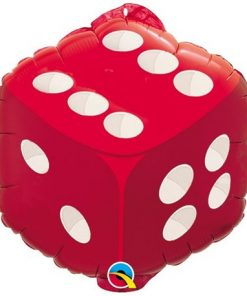 "18"" Dice foil balloon"