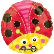 "17"" Cute Lady Bug Foil Balloon"