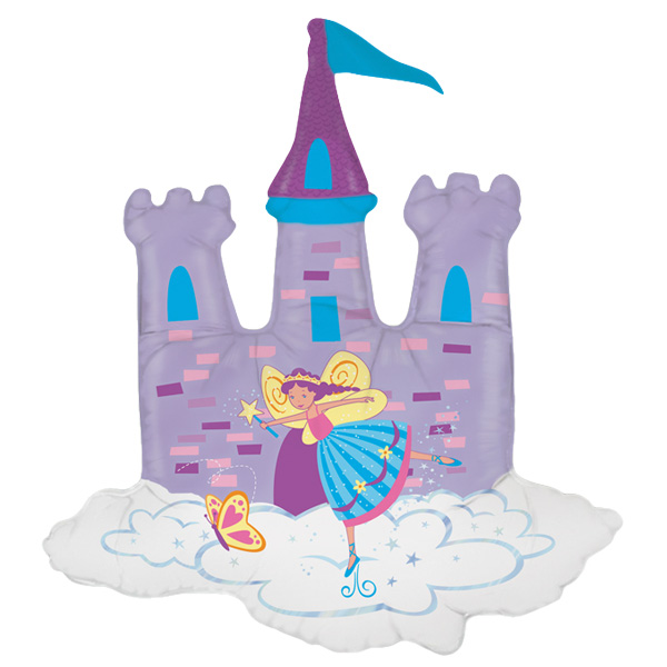 Castle Fairy Shape Foil