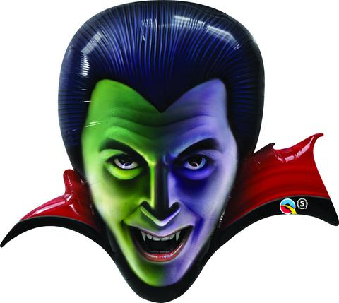 Shape Count Dracula Head Foil