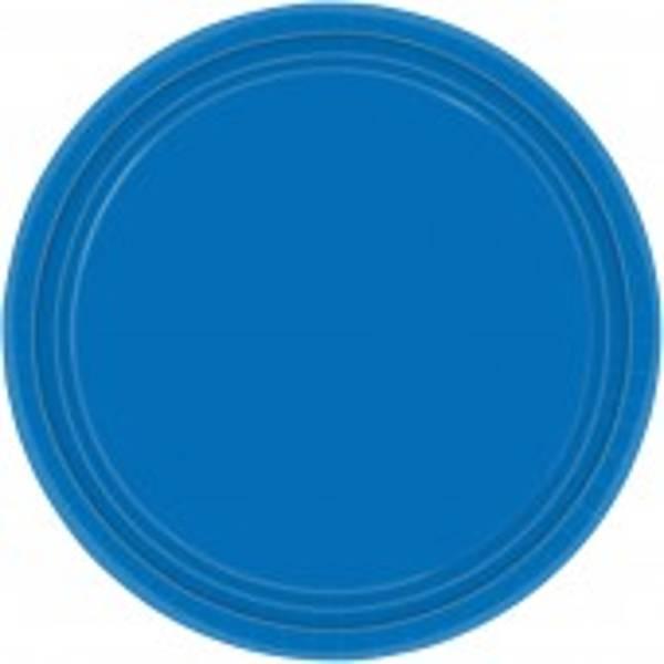 Marine Blue Paper Plates