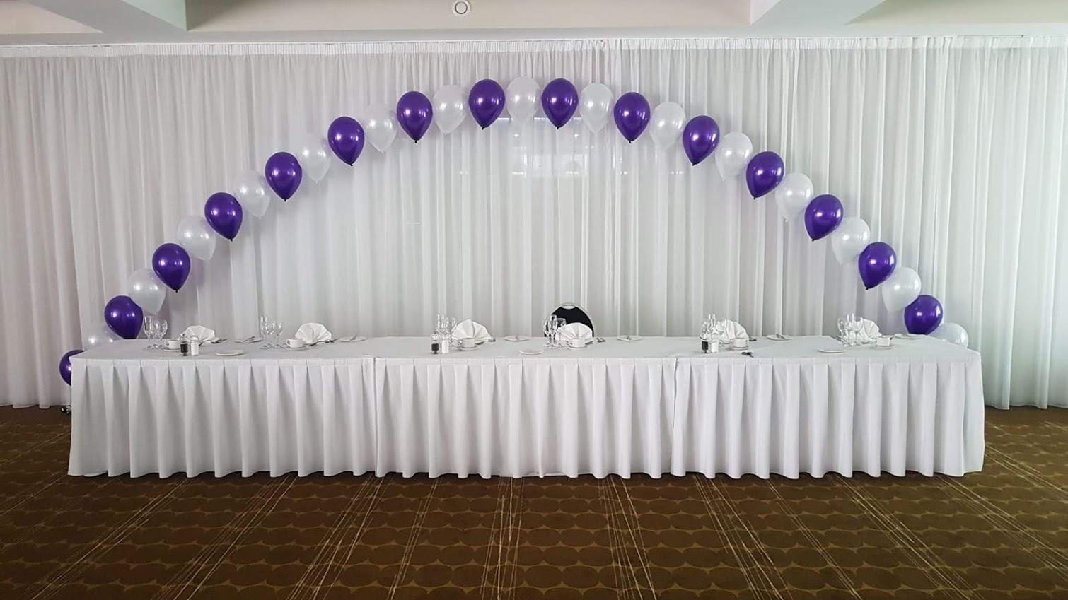 Arch - Top table single balloon