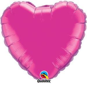 Heart Magenta 36 Inch