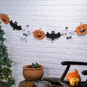 Happy Halloween Spooky Bunting