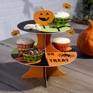 Happy Halloween Cake Stand