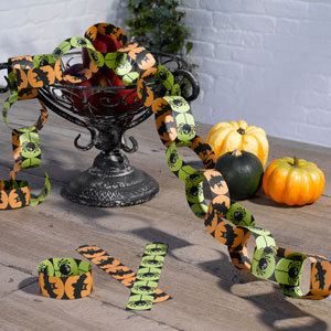 Happy Halloween Paper Chain