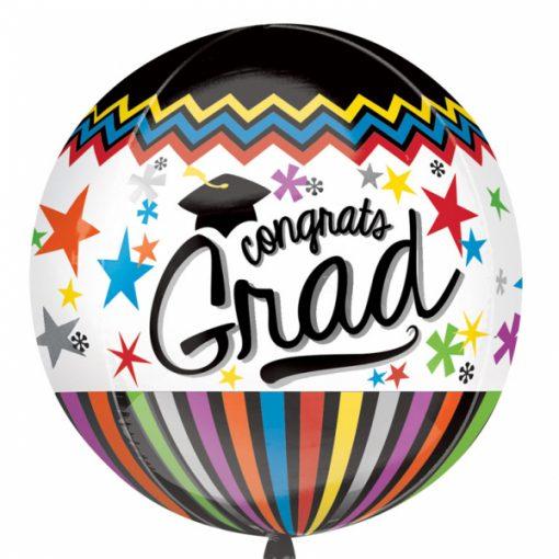 """15"""" Congrats Grad Orbz Foil"""