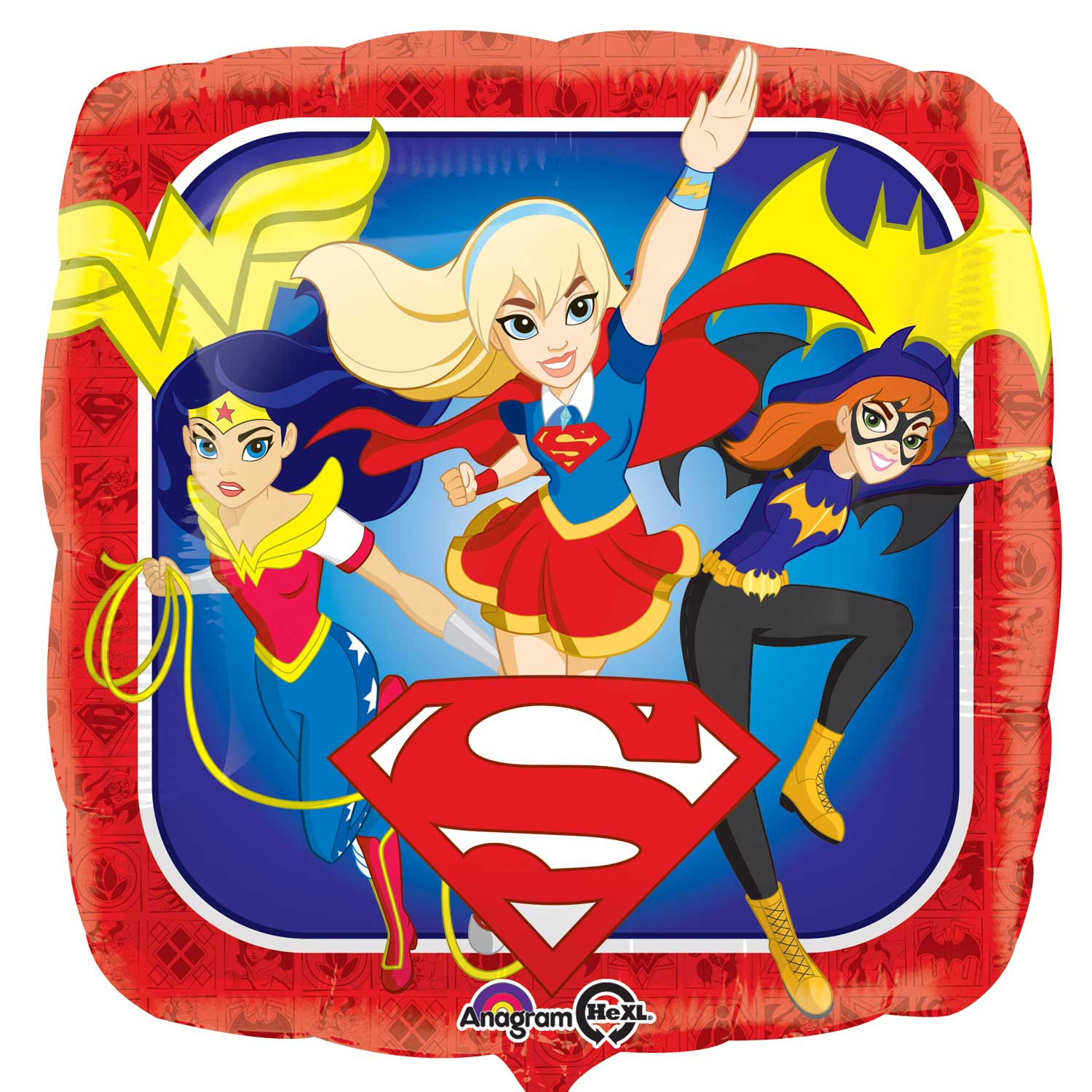 "18"" DC Super Hero Girls Standard Foil"