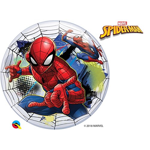 "22"" Marvel's Spiderman Web Slinger Single Bubble"