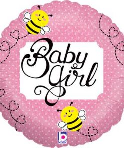 "18"" Baby Girl Bee Holographic Foil"